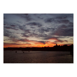 Leaving Port Townsend Large Business Cards (Pack Of 100)