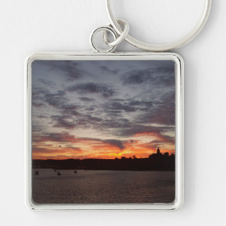 Leaving Port Townsend Keychain