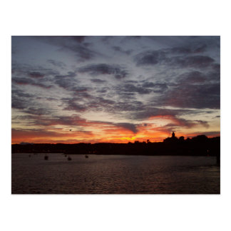 Leaving Port Townsend Postcard