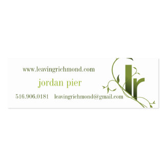 leaving richmond cards business card templates