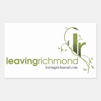 leaving richmond stickers