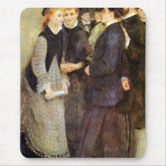 Leaving The Conservatoire by Pierre Renoir Mouse Pad