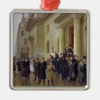 Leaving the Lycee Condorcet, 1903 Metal Ornament