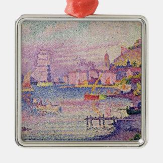 Leaving the Port of Saint-Tropez, 1902 Metal Ornament