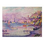 Leaving the Port of Saint-Tropez, 1902 Postcards