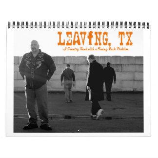 LEAVING, TX Calendar