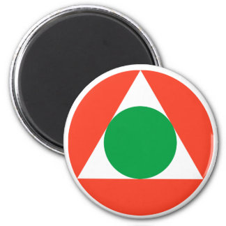 Lebanese Air Force Roundel 2 Inch Round Magnet