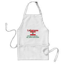 Lebanese and Good Looking Adult Apron