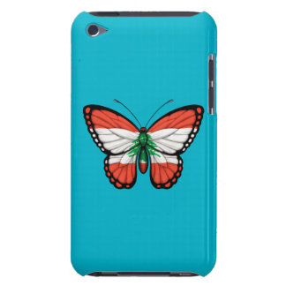Lebanese Butterfly Flag Barely There iPod Cover
