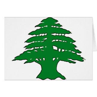Lebanese Cedar Card