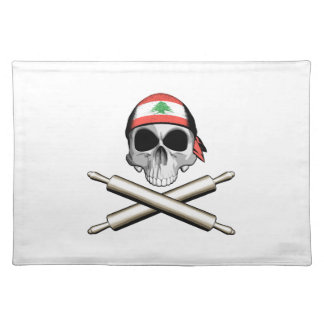 Lebanese Chef 3 Cloth Placemat