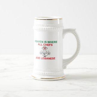 Lebanese Chefs Coffee Mugs