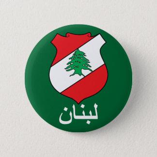 Lebanese COA  Arabic Lettering Button