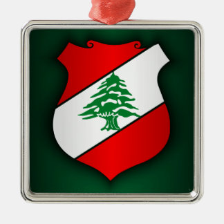 Lebanese Coat of Arms Metal Ornament