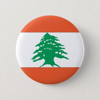 Lebanese Flag Button