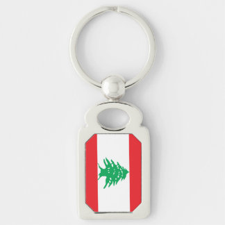 Lebanese Flag Keychain