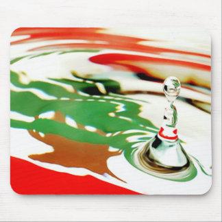 Lebanese Flag Mouse Pad