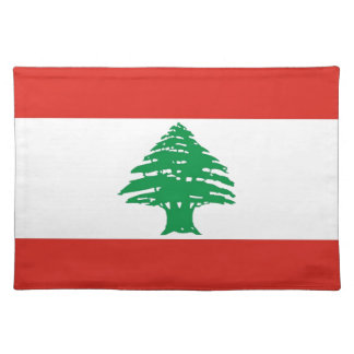 Lebanese Flag Placemat