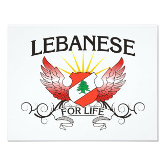 Lebanese For Life Card