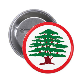 Lebanese Forces Party Button