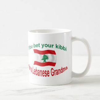 Lebanese Grandma - Bet Your Kibbi Coffee Mug