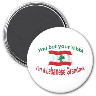 Lebanese Grandma - Bet Your Kibbi Magnet