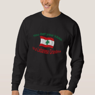 Lebanese Grandma - Bet Your Kibbi Sweatshirt