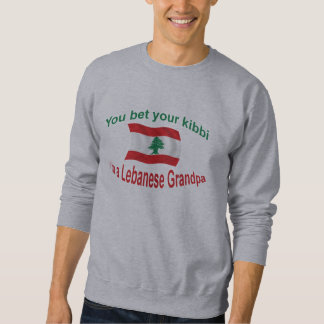 Lebanese Grandpa - Bet Your Kibbi Sweatshirt