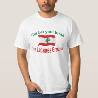 Lebanese Grandpa - Bet Your Kibbi T-Shirt