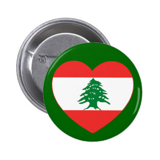 Lebanese Heart Button