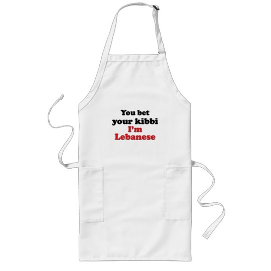 Lebanese Kibbi 2 Long Apron