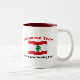 Lebanese Twin - Good Looking One Two-Tone Coffee Mug