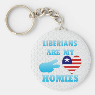 Lebaneses are my Homies Basic Round Button Keychain