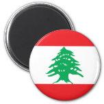 lebanon 2 inch round magnet