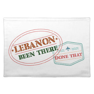 Lebanon Been There Done That Placemat