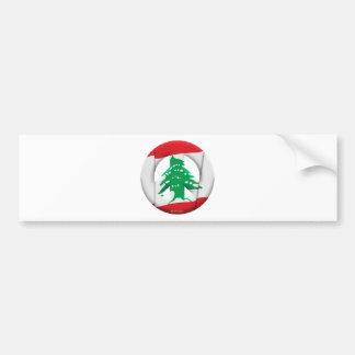 Lebanon Car Bumper Sticker