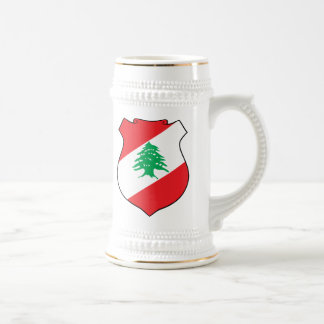 Lebanon Coat Of Arms Beer Stein