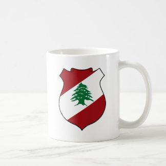 Lebanon Coat of Arms Coffee Mug
