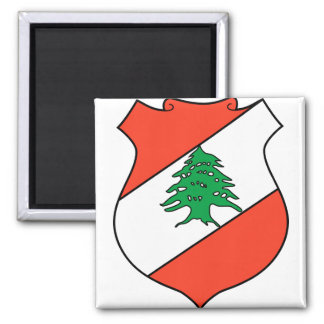 Lebanon Coat of Arms detail Magnet