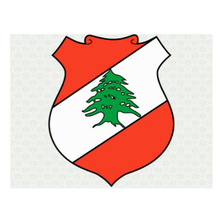 Lebanon Coat of Arms detail Postcards