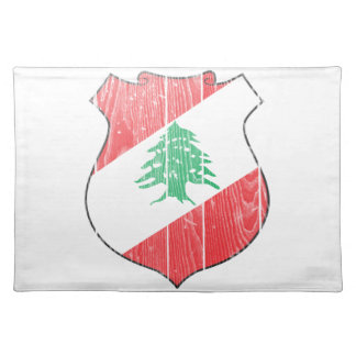 Lebanon Coat Of Arms Placemats