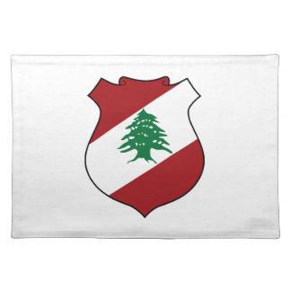 Lebanon Coat of Arms Place Mat