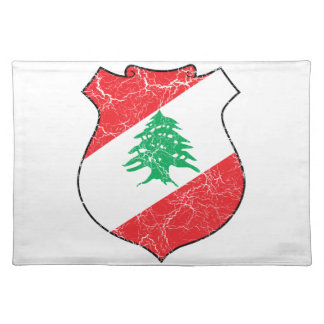 Lebanon Coat Of Arms Placemat