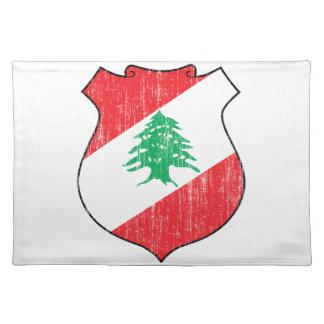 Lebanon Coat Of Arms Place Mats