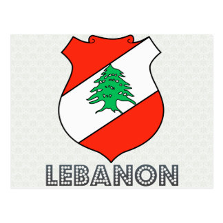 Lebanon Coat of Arms Post Cards
