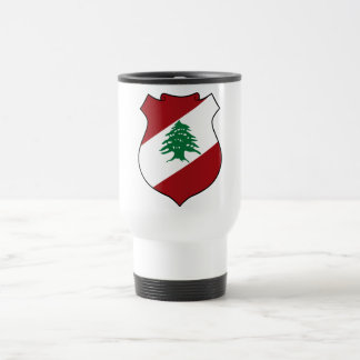 Lebanon Coat of Arms Travel Mug