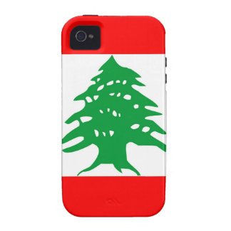 lebanon country flag case tree Case-Mate iPhone 4 cover
