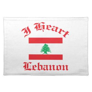 lebanon design place mats