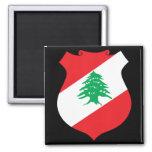 lebanon emblem magnet