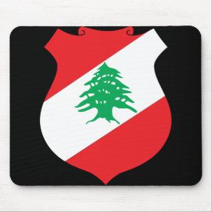 lebanon emblem mouse pad
